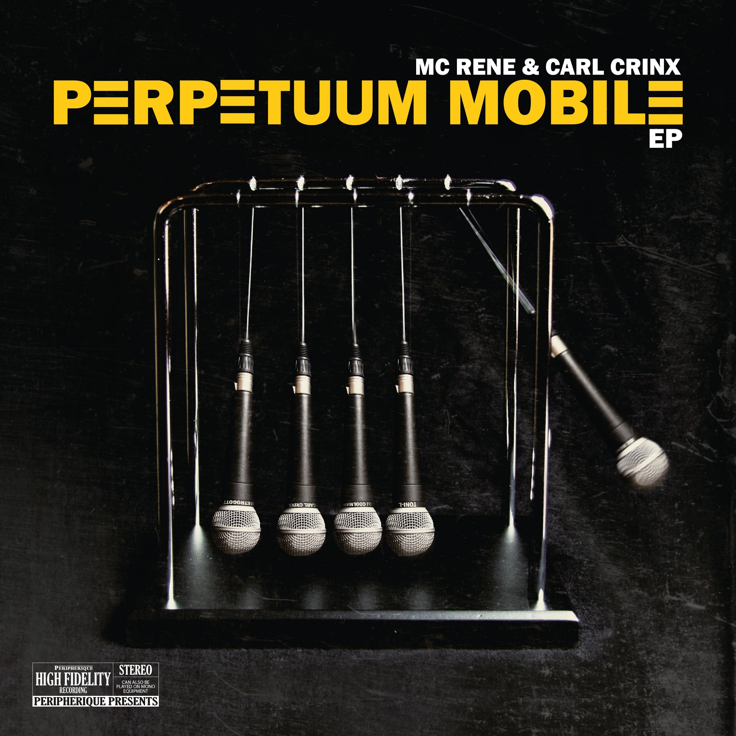 """MC Rene und Carl Crinx veröffentlichen """"Perpetuum Mobile EP"""""""